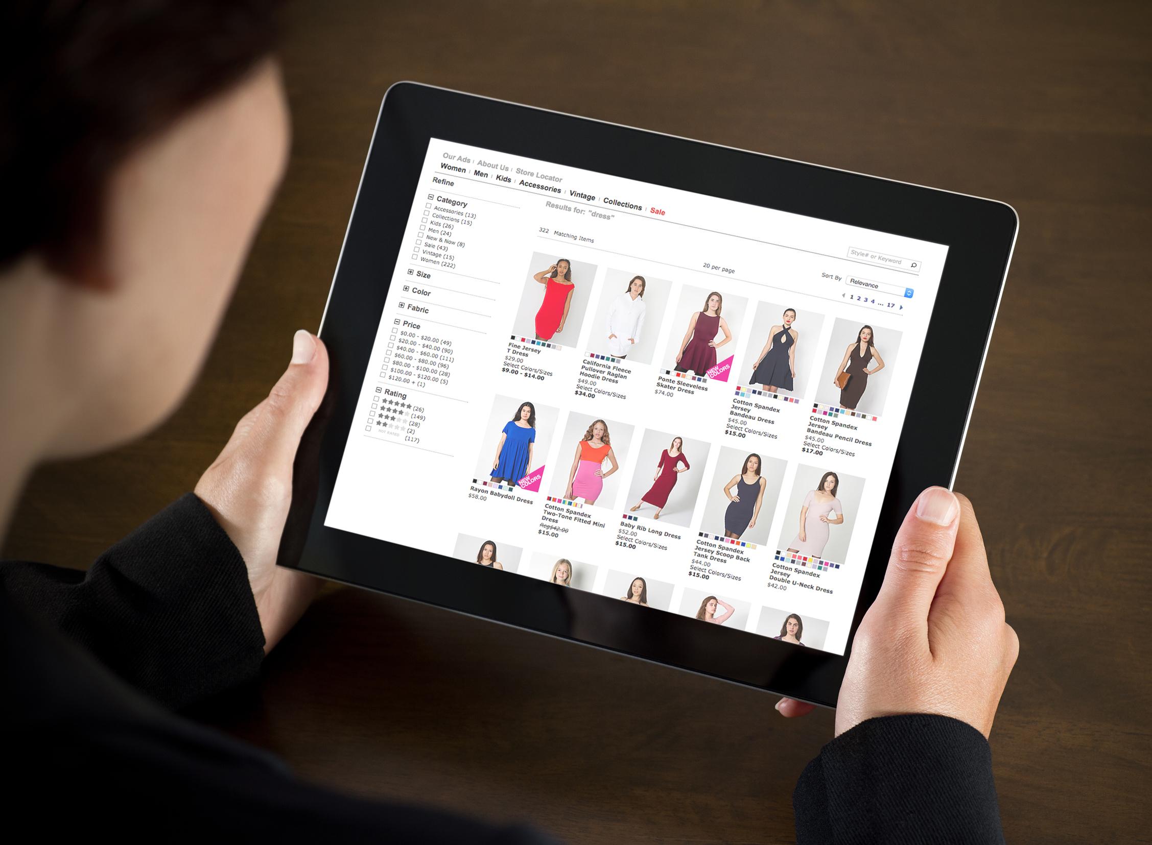 E-Commerce Search Platform Performance Quadrant